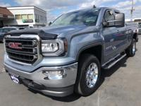 CARFAX One-Owner. 2016 GMC Sierra 1500 SLE Blue 6-Speed