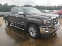 Certified. Iridium Metallic 2016 GMC Sierra 1500 SLT