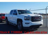 CARFAX One-Owner.  2016 GMC Sierra 1500 SLT in Summit