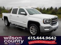 2016 GMC Sierra 1500 SLT EcoTec3 5.3L V8 Summit White