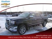 Options:  2016 Gmc Sierra 1500 Slt|Black|Jet Black
