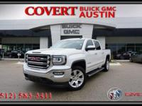 2016 GMC Sierra 1500 SLT Crew Cab truck with excellent