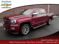 Options:  2016 Gmc Sierra 1500 Slt|Crimson Red