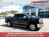 CARFAX 1-Owner, GMC Certified, Excellent Condition.
