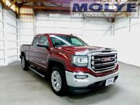 2016 Crimson Red 4x4 Sierra with Heated and Vented