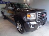 2016 GMC Sierra 2500HD Iridium Metallic. CARFAX