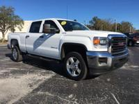 White 2016 GMC Sierra 2500HD 4WD 6-Speed Automatic HD