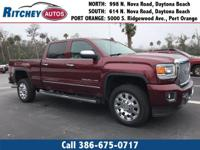 CERTIFIED PRE-OWNED 2016 GMC SIERRA 2500 HD DENALI 4WD