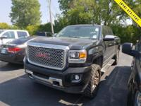 Black 2016 GMC Sierra 2500HD Denali 4WD Allison 1000