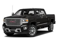 Less than 8k Miles* This powerful Sierra 2500HD, with