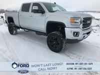 Your 2016 GMC Sierra 2500 HD 4x4 Goes All In On