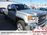 This 2016 GMC Sierra 2500 has a 6.0 liter 8 Cylinder