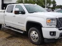Summit White 2016 GMC Sierra 3500HD Denali 4WD Allison