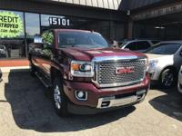 BACKUP CAMERA and MP3 PLAYER. Sierra 3500HD Denali, 4D