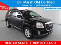 2016 GMC Terrain SLE-2 AWD Certified, HEATED SEATS,