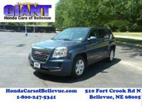 This 2016 GMC Terrain SLE AWD is offered to you for
