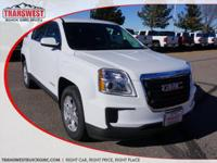 Options:  2016 Gmc Terrain Sle-1|Summit White|Jet