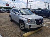 Certified. Quicksilver Metallic 2016 GMC Terrain SLE-1