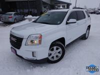 Options:  2016 Gmc Terrain Sle-2|White|Carfax