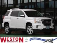2016 GMC Terrain SLT White Fresh Oil Change, No