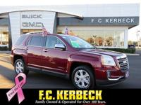 This GMC Terrain is CERTIFIED! Back-up Camera,