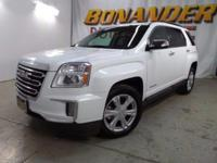 Check out this certified 2016 GMC Terrain SLT. Its