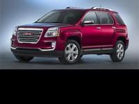 2016 GMC Terrain SLT! Featuring a 3.6L V6 and only