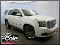 Denali trim. CARFAX 1-Owner, GMC Certified, Extra