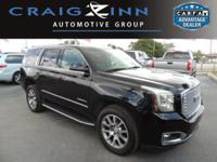 CarFax 1-Owner, This 2016 GMC Yukon Denali will sell