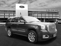 2016 GMC Yukon Denali 4 Wheel Drive With Navigation &