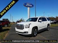 CARFAX One-Owner. White Frost 2016 GMC Yukon Denali 4WD