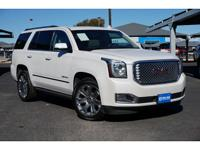 New Price! White Frost 2016 GMC Yukon Denali 8-Speed