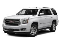 Sturdy and dependable, this Used 2016 GMC Yukon SLT