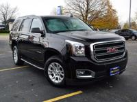 Black 2016 GMC Yukon SLT 4WD 6-Speed Automatic