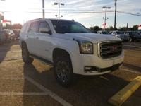 Summit White 2016 GMC Yukon SLT 4WD 6-Speed Automatic