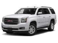 Yukon SLT, 4D Sport Utility, EcoTec3 5.3L V8, 4WD, and