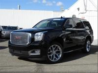 CARFAX One-Owner. Onyx Black 2016 GMC Yukon SLT 4WD