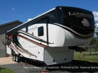 2016 Heartland Landmark, Length: 43.5, Exterior: Black,