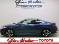 This 2016 Honda Accord Coupe EX-L is proudly offered by