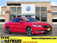 Options:  2016 Honda Accord Ex-L Coupe|Red|4-Cyl Pzev