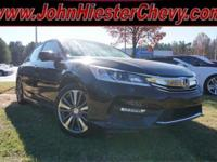 Options:  2016 Honda Accord Ex-L|Carfax One-Owner.4D