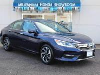 This Honda Certified Accord Sedan 4dr I4 CVT EX-L is