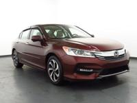 2016 Honda Accord Leather.   37/27 Highway/City MPG**