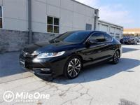 LOW MILES ** 1-OWNER ** CLEAN CARFAX ** ACCORD COUPE