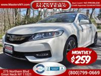 This Amazing White 2016 Honda Accord Coupe EXL V6 Comes