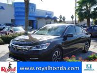 Options:  2016 Honda Accord Ex-L|This Vehicle Has A