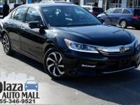 Certified. 2016 Honda Accord EX-L w/Navigation and