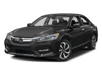 V6!!! 2016 Honda Accord Sedan EX-L. Its V-6 3.5 engine