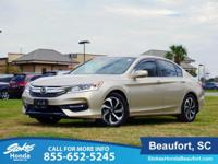 CARFAX One-Owner. Clean CARFAX. Champagne Frost Pearl