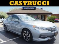 Recent Arrival! CARFAX One-Owner.   Silver 2016 Honda